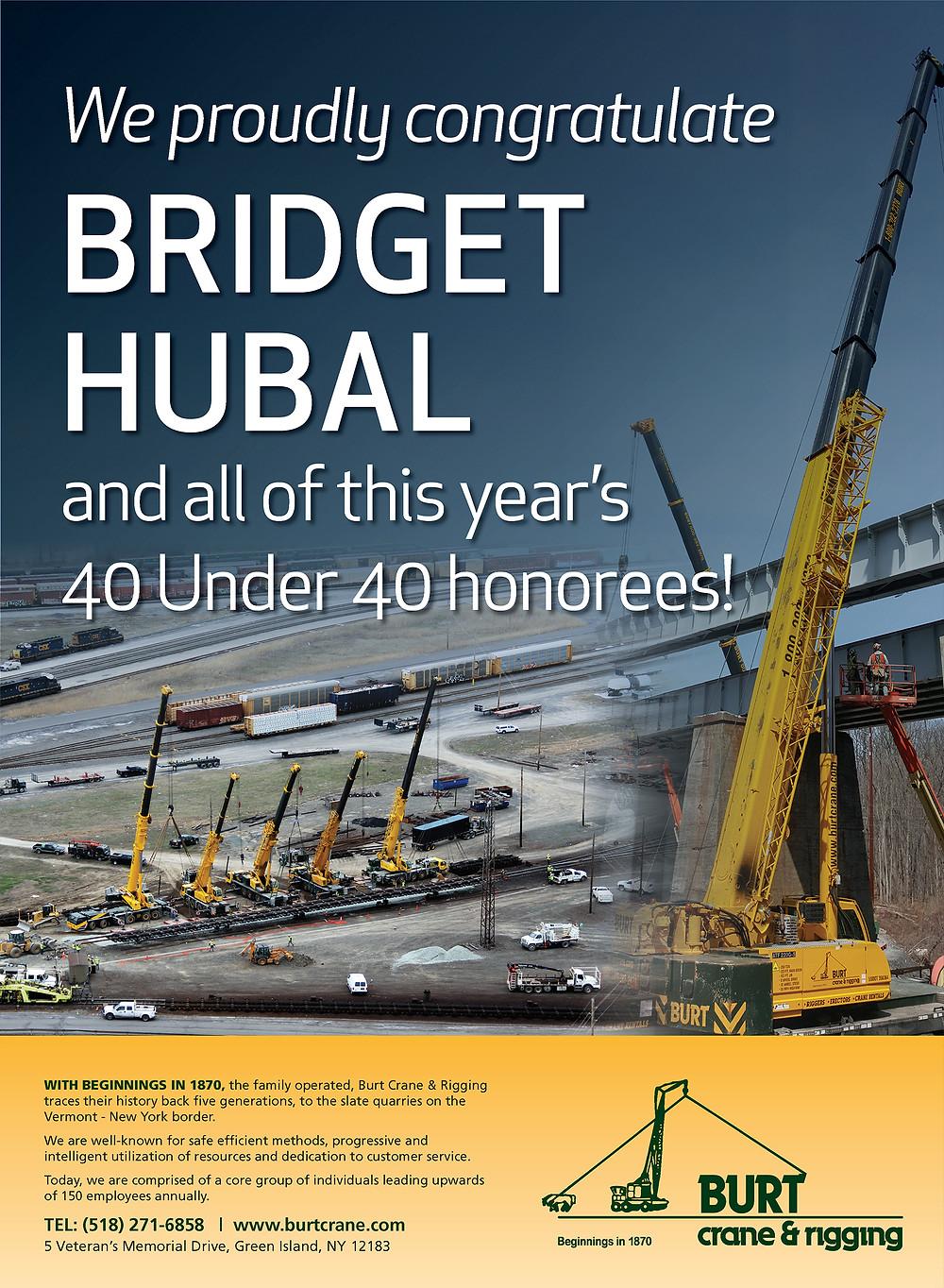 Burt crane and rigging Bridget Hubal