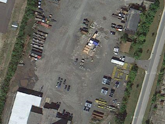NEW AERIAL SHOTS OF BURT CRANE & RIGGING MAIN DEPOT
