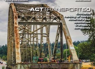 BURT crane featured in American Cranes & Transport magazine