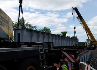 100 Ton Beams, Short Outriggers