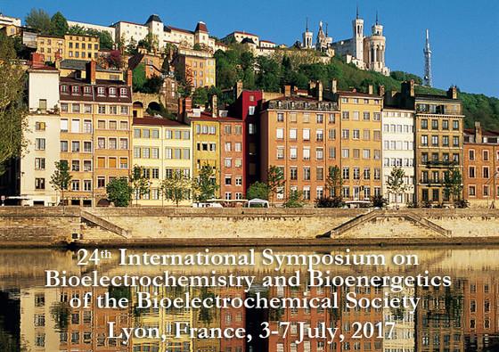 XXIV International Symposium on Bioelectrochemistry and Bioenergetics (BES 2017) in Lyon