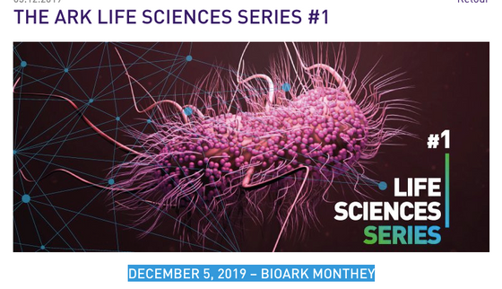 Life sciences conference on antimicrobial resistance (AMR) (December 5th, 2019, Monthey, Switzerland