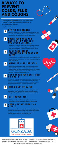 Top 10 ways to prevent colds, flus and c