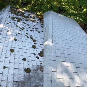 Greensboro Soft Roof Washing Services in North Carolina.