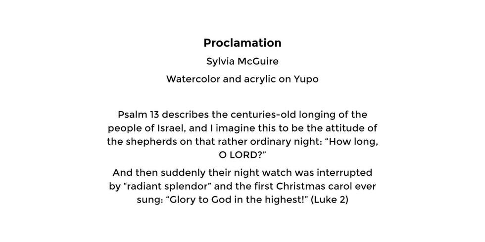 Proclamation (card back)