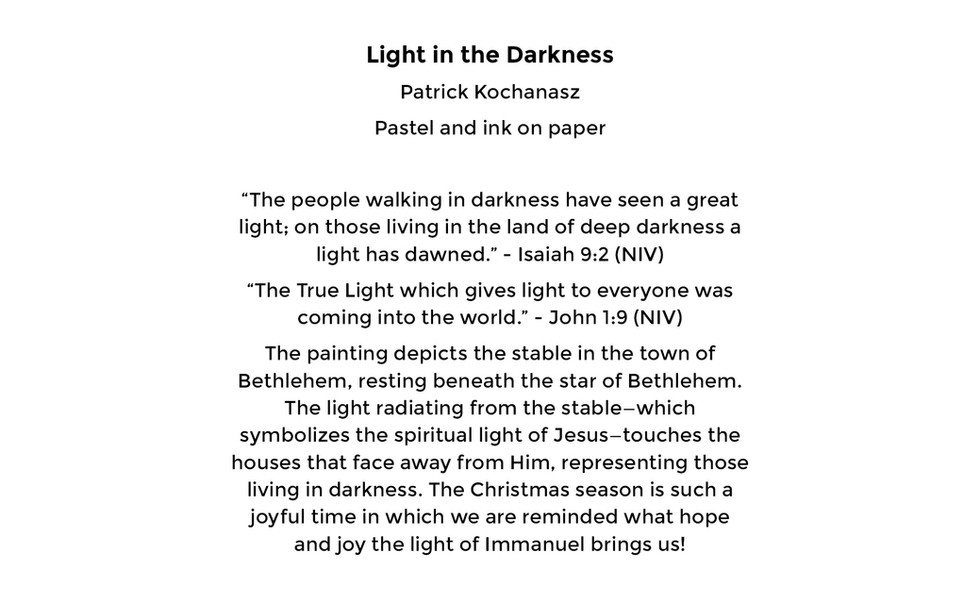 Light in the Darkness (card back)