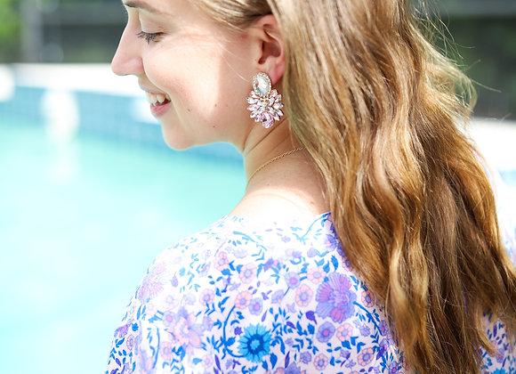 Genevieve Crystal Statement Earrings