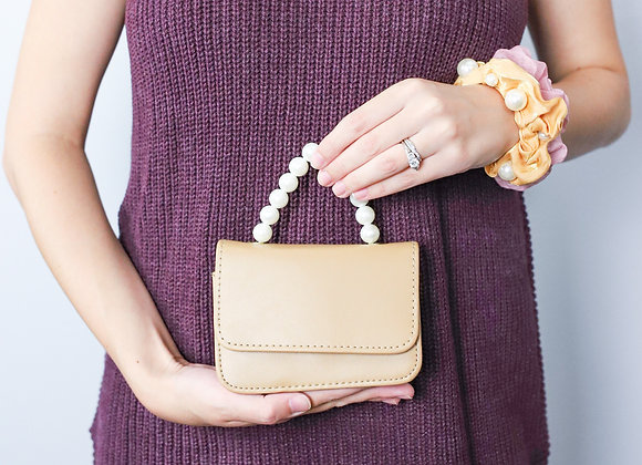 Audrey Mini Purse with Pearl Handle