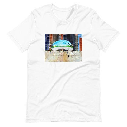 Chicago's Cloudscape Unisex T-Shirt