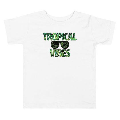 Tropical Vibes Toddler Tee