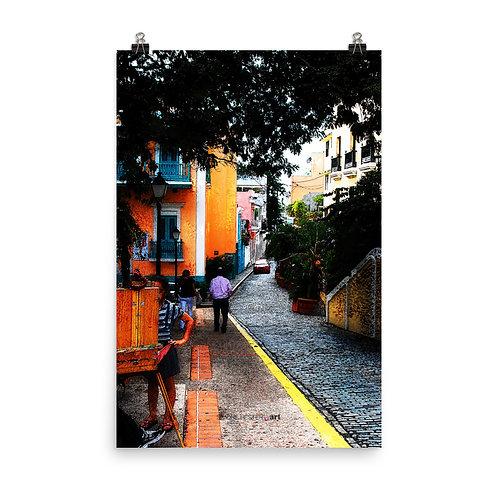 La Calle Print