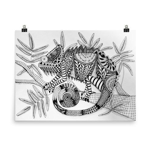 The Chameleon Print