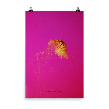Jellyfishing III Print