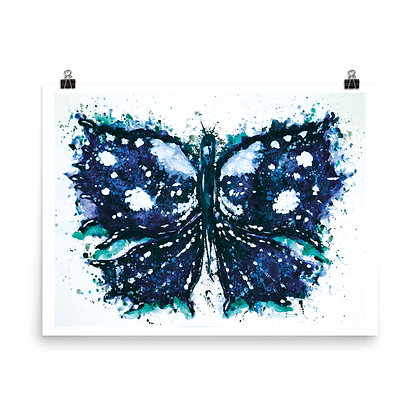 Butterfly or Inkblot? Print