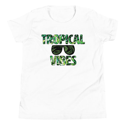Tropical Vibes Youth T-Shirt
