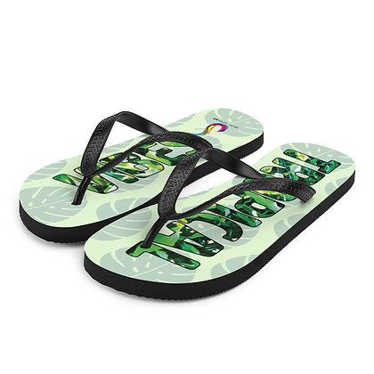 Tropical Vibes Flip-Flops