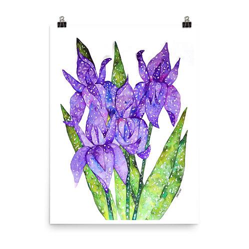 Purple Majesty Print