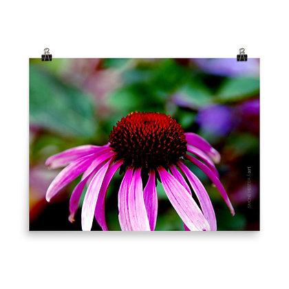 Neon Flower Print