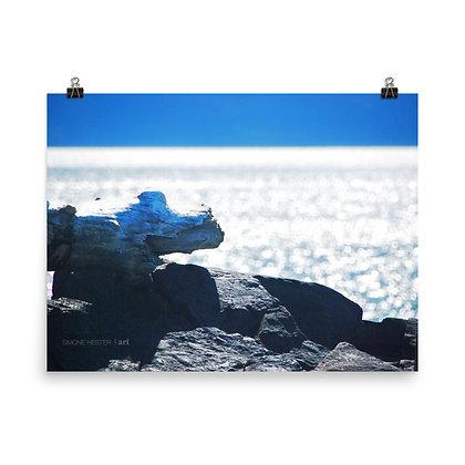 Sunlit Waters Print