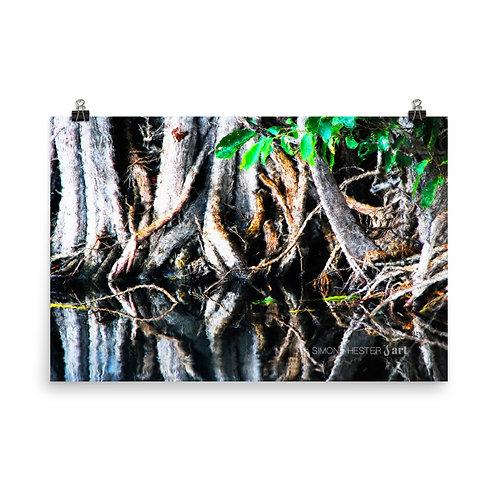 A Mess of Mangroves Print