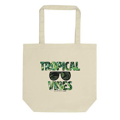 Tropical Vibes Eco Tote Bag