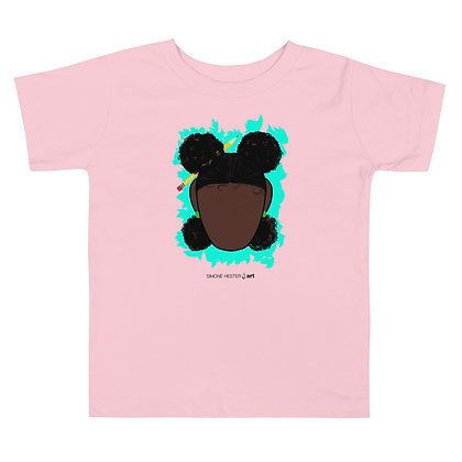 All Brains and Afro Puffs Toddler Tee