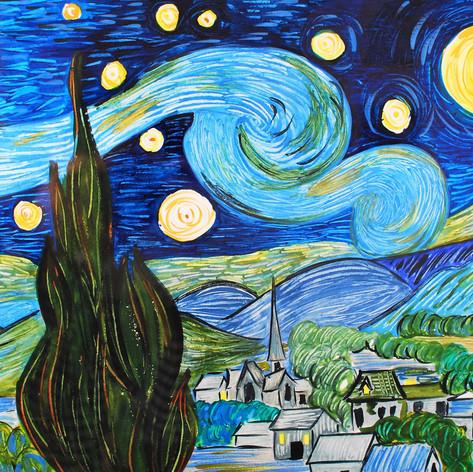 Thanks, Van Gogh