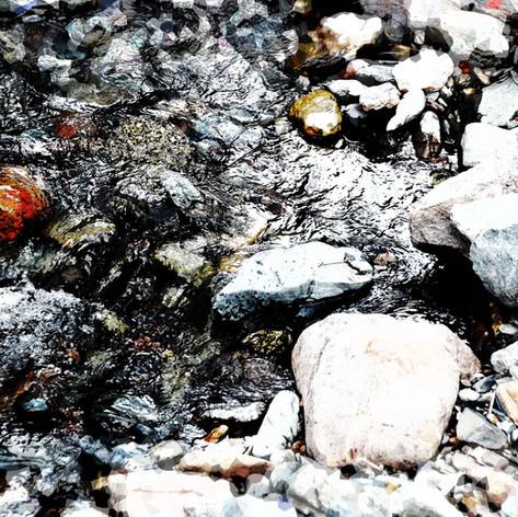 Wet Rock Dry Rock