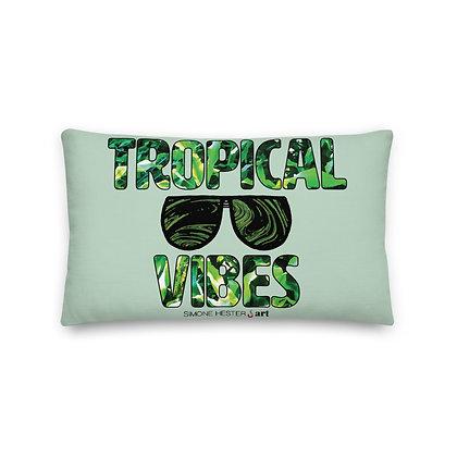 Tropical Vibes Premium Pillow