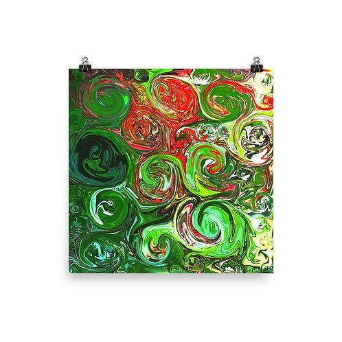 Swirled Print