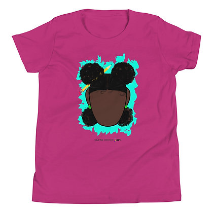 All Brains and Afro Puffs Youth T-Shirt