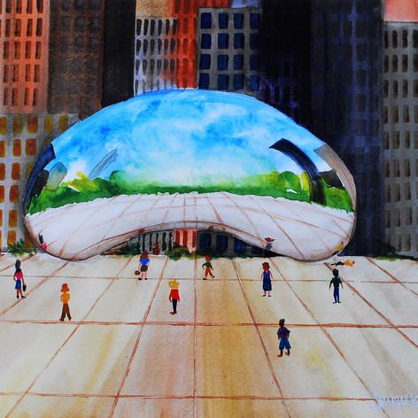 Chicago's Cloudscape