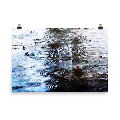 Rainfall Print