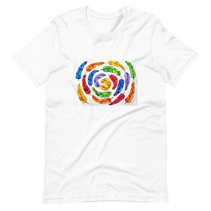 Feathered Flowetry Unisex T-Shirt