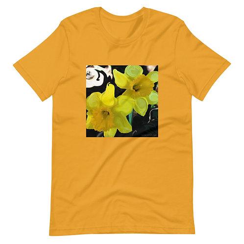 Yellow Flower Paint Unisex T-Shirt