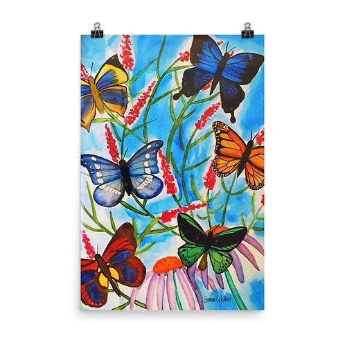 Butterfly Bunch Print