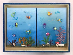 Kids room original art