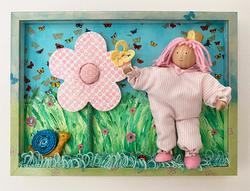 Original art for baby room