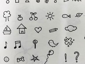I doodle!