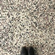 Studio floor tiles