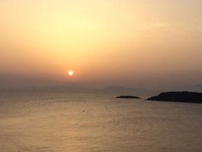 The sunrise colour palette