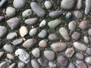 Pebble path colour palette