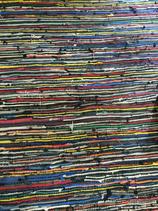 Colourful woven rag