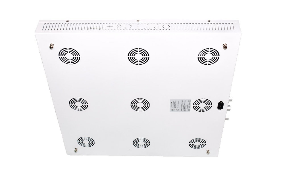 OPTIC 8+ Dimmable COB LED GROW LIGHT 500W (UV/IR) 3500k COBs | Skunk Grow  Supply