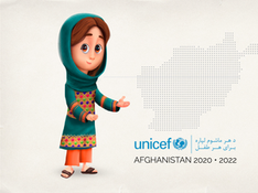 Unicef Afghanistan Character
