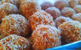 Coconut Carrot Balls