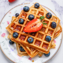 Waffle Making Recipe in Toaster