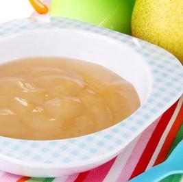 Fruit Semolina Baby Custard