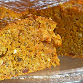 Carrot and Walnut Cinnamon Cake
