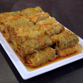Cabbage Rolls with Meat